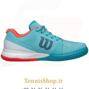 تنیس زنانه ویلسون سری Pro 2.5 مدل RUSH رنگ آبی سفید 2 300x300 - کفش تنیس زنانه ویلسون سری Pro 2.5 مدل RUSH رنگ آبی سفید
