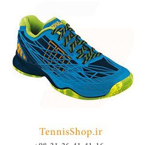 تنیس مردانه Wilson مدل Kaos رنگ آبی فسفری 2 300x300 - کفش تنیس مردانه Wilson مدل Kaos رنگ آبی فسفری