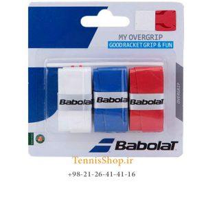 راکت تنیس بابولات سری My OverGrip مدل 3 عددی رنگ مشکی آبی سفید 300x300 - اورگریپ راکت تنیس بابولات سری My OverGrip مدل 3 عددی رنگ مشکی آبی سفید
