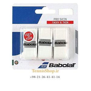 راکت تنیس بابولات سری Pro Skin OverGrip مدل 3 عددی سفید 300x300 - اورگریپ راکت تنیس بابولات سری  Pro Skin OverGrip مدل 3 عددی سفید