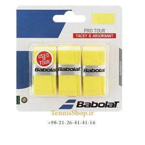 راکت تنیس بابولات سری Pro Tour مدل 3 عددی زرد 300x300 - اورگریپ راکت تنیس بابولات سری Pro Tour مدل 3 عددی زرد