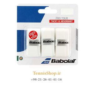 راکت تنیس بابولات سری Pro Tour مدل 3 عددی سفید 300x300 - اورگریپ راکت تنیس بابولات سری Pro Tour مدل 3 عددی سفید