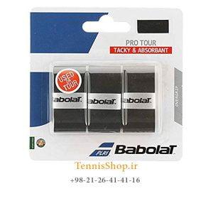 راکت تنیس بابولات سری Pro Tour مدل 3 عددی مشکی 300x300 - اورگریپ راکت تنیس بابولات سری Pro Tour مدل 3 عددی مشکی