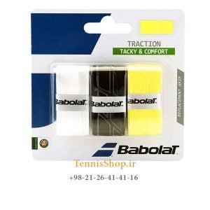 راکت تنیس بابولات سری Traction Assorted مدل 3 عددی رنگ مشکی سفید زرد 300x300 - اورگریپ راکت تنیس بابولات سری Traction Assorted مدل 3 عددی رنگ مشکی سفید زرد