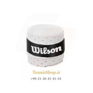 راکت تنیس ویلسون سری سوراخ دار مدل تک عددی سفید1 300x300 - اورگریپ راکت تنیس ویلسون سری سوراخ دار مدل تک عددی سفید