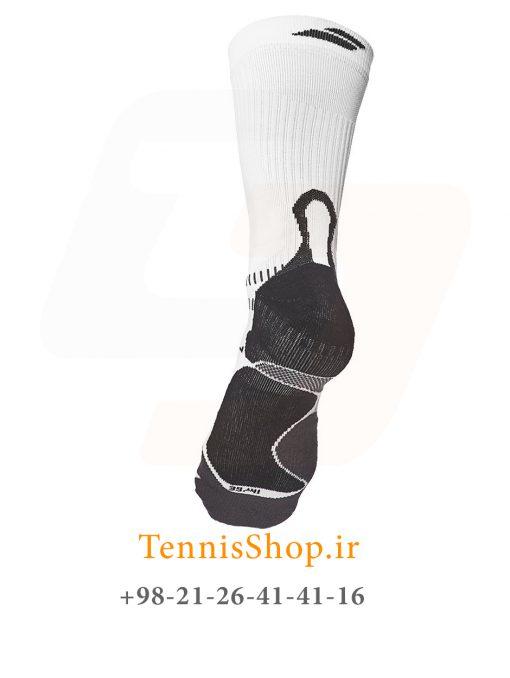 جوراب تنیس بابولات سری Pro 360 مدل یک جفتی رنگ مشکی سفید