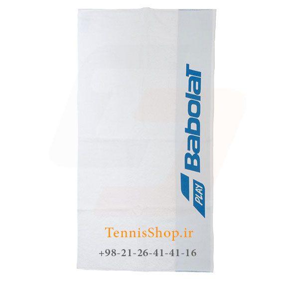 تنیس بابولات سری Soft مدل 2019 رنگ آبی سفید 1 600x600 - حوله تنیس بابولات سری Soft مدل 2019 رنگ آبی سفید