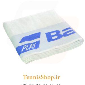 تنیس بابولات سری Soft مدل 2019 رنگ آبی سفید F 300x300 - حوله تنیس بابولات سری Soft مدل 2019 رنگ آبی سفید