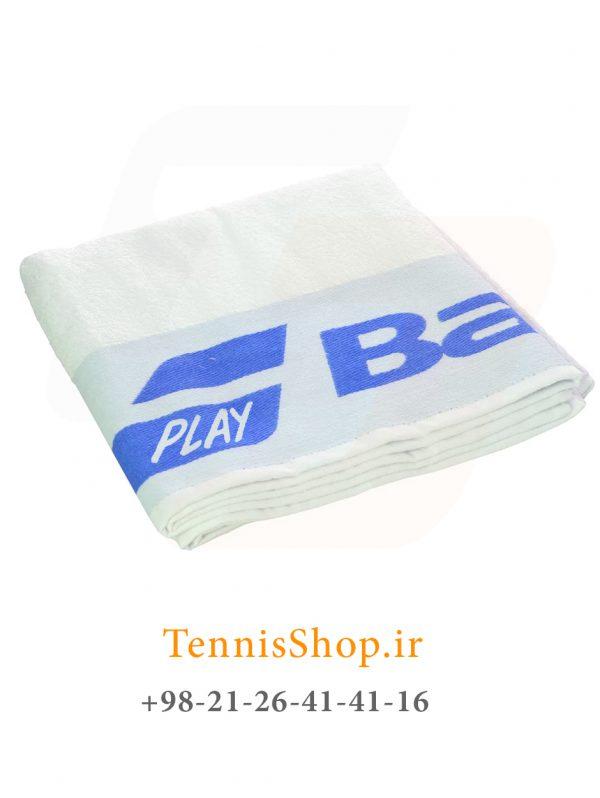 تنیس بابولات سری Soft مدل 2019 رنگ آبی سفید F 600x798 - حوله تنیس بابولات سری Soft مدل 2019 رنگ آبی سفید