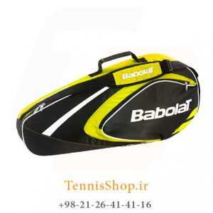 تنیس بابولات سری Club مدل 3 راکته رنگ زرد 1 300x300 - ساک تنیس بابولات سری Club مدل 3 راکته رنگ زرد