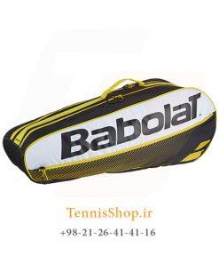 تنیس بابولات سری Club مدل 6 راکته رنگ زرد 1 247x296 - ساک تنیس بابولات سری Club مدل 6 راکته رنگ زرد