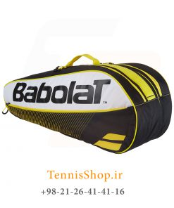 تنیس بابولات سری Club مدل 6 راکته رنگ زرد 2 247x296 - ساک تنیس بابولات سری Club مدل 6 راکته رنگ زرد