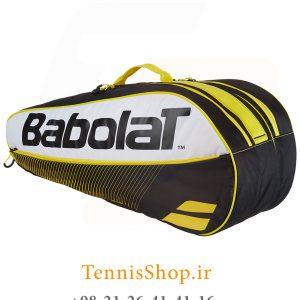تنیس بابولات سری Club مدل 6 راکته رنگ زرد 2 300x300 - ساک تنیس بابولات سری Club مدل 6 راکته رنگ زرد