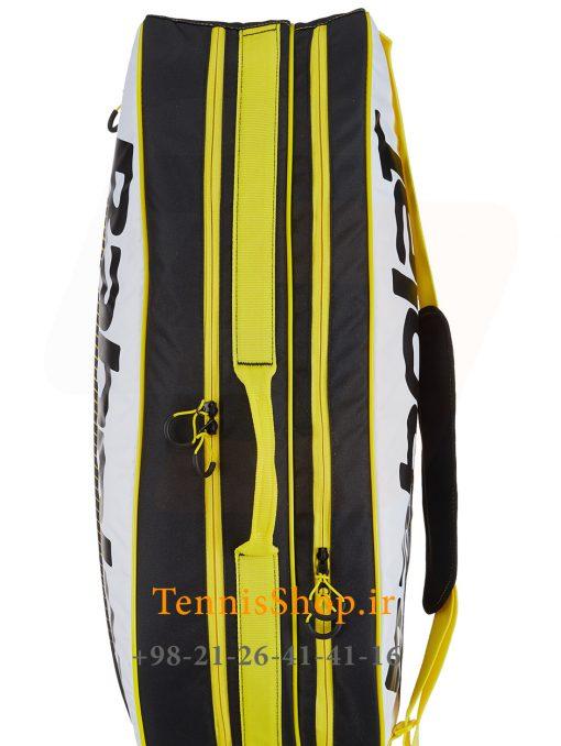 ساک تنیس بابولات سری Club مدل 6 راکته رنگ زرد