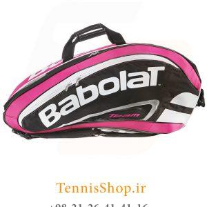تنیس بابولات سری Team Line مدل 12 راکته رنگ صورتی 5 300x300 - ساک تنیس بابولات سری Team Line مدل 12 راکته رنگ صورتی