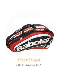 ساک تنیس بابولاتسری Team Lineمدل 12 راکته رنگ قرمز