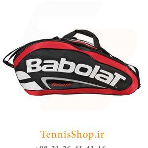 تنیس بابولات سری Team Line مدل 12 راکته رنگ قرمز 4 300x300 - ساک تنیس بابولات سری Team Line مدل 12 راکته رنگ قرمز