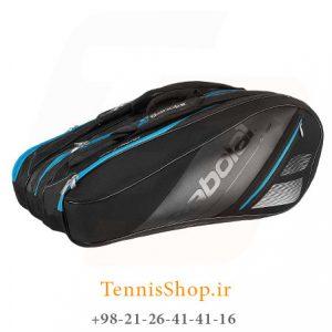 تنیس بابولات سری Team Line مدل 12 راکته رنگ مشکی آبی 1 300x300 - ساک تنیس بابولات سری Team Line مدل 12 راکته رنگ مشکی آبی