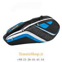 ساک تنیس بابولات سری Team Line مدل 6 راکته رنگ آبی (1)