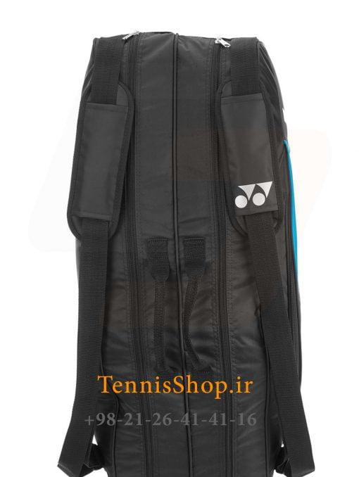 ساک تنیس یونکس سری 9826 مدل 6 راکته رنگ مشکی آبی