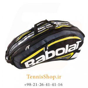 تنیس 12 راکته Babolat مدل TEAM LINE رنگ مشکی زرد 1 300x300 - ساک تنیس بابولات سری Team Line مدل 12 راکته رنگ مشکی زرد