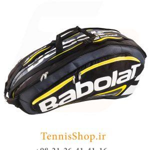 تنیس 12 راکته Babolat مدل TEAM LINE رنگ مشکی زرد 2 300x300 - ساک تنیس بابولات سری Team Line مدل 12 راکته رنگ مشکی زرد