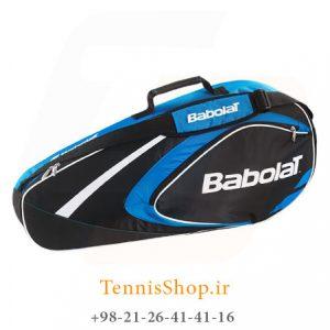 تنیس 3 راکته Babolat مدل Club رنگ آبی مشکی 1 300x300 - ساک تنیس بابولات سری Club مدل 3 راکته رنگ آبی مشکی