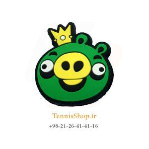 گیر تکی راکت تنیس سری Angry Birds مدل King Pig 300x300 - ضربه گیر تکی راکت تنیس سری Angry Birds مدل King Pig