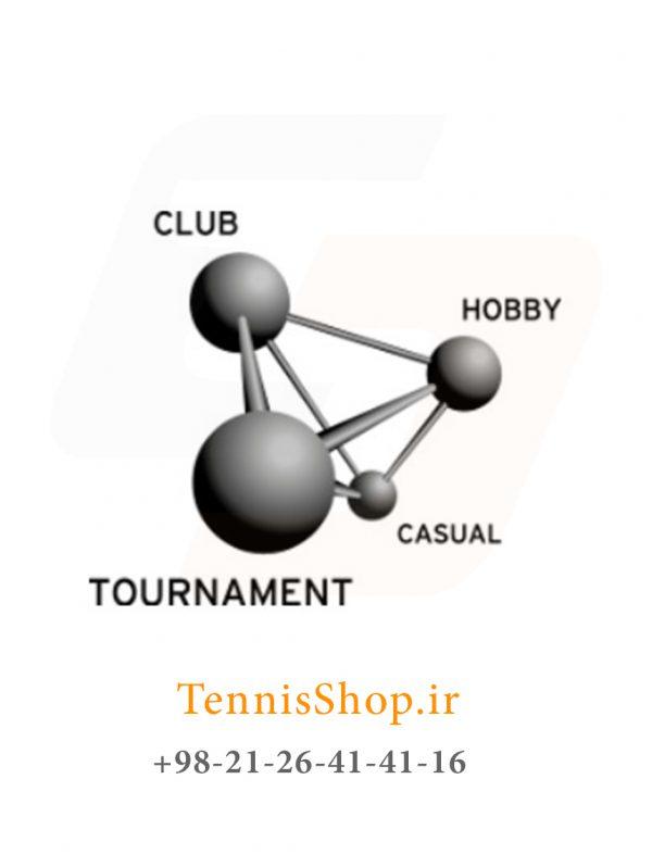 توپ تنیس هد سری Tour 2 600x798 - قوطی سه تایی توپ تنیس هد سری Tour