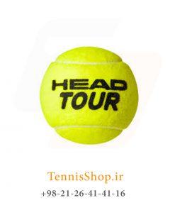 چهار تایی توپ تنیس هد سری Tour 1 247x296 - قوطی چهار تایی توپ تنیس هد سری Tour