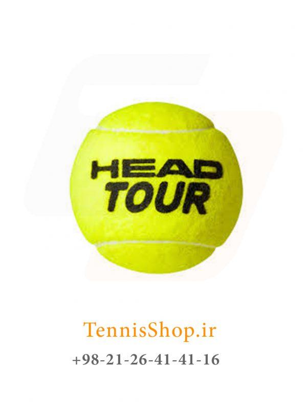 چهار تایی توپ تنیس هد سری Tour 1 600x798 - قوطی سه تایی توپ تنیس هد سری Tour