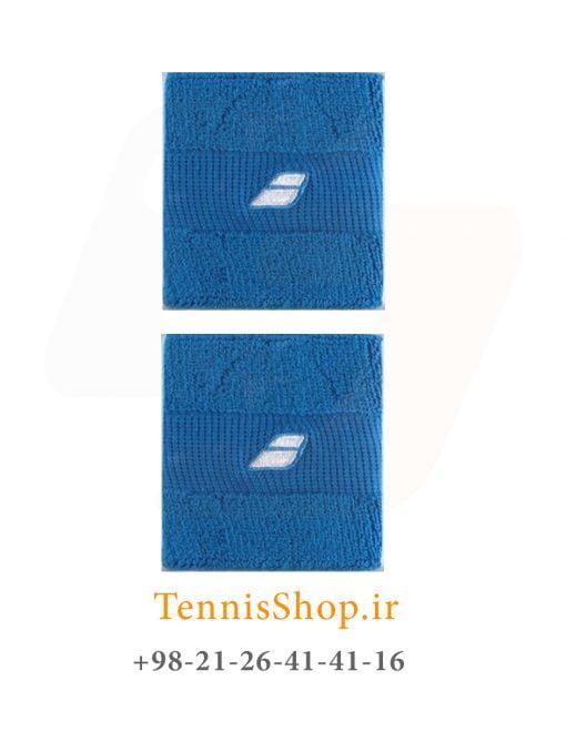 مچ بند تنیس بابولات سری Comfort مدل 2 عددی رنگ آبی