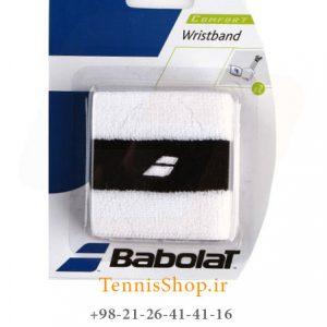بند تنیس بابولات سری Comfort مدل 2 عددی رنگ سفید مشکی 300x300 - مچ بند تنیس بابولات سری Comfort مدل 2 عددی رنگ سفید مشکی