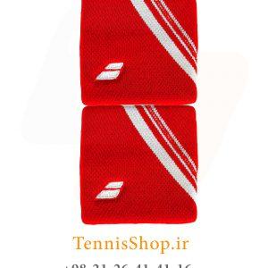 بند تنیس بابولات سری Double Line مدل 2 عددی رنگ قرمز 2 300x300 - مچ بند تنیس بابولات سری Double Line مدل 2 عددی رنگ قرمز