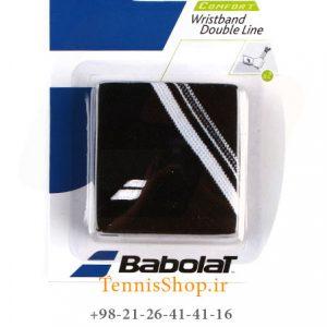 بند تنیس بابولات سری Double Line مدل 2 عددی رنگ مشکی 1 300x300 - مچ بند تنیس بابولات سری Double Line مدل 2 عددی رنگ مشکی