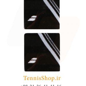 بند تنیس بابولات سری Double Line مدل 2 عددی رنگ مشکی 2 300x300 - مچ بند تنیس بابولات سری Double Line مدل 2 عددی رنگ مشکی