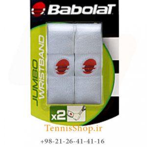 بند تنیس بابولات سری Jumbo مدل 2 عددی رنگ سفید 1 300x300 - مچ بند تنیس بابولات سری Jumbo مدل 2 عددی رنگ سفید