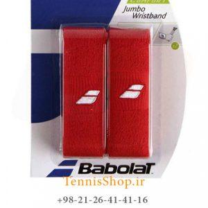 بند تنیس بابولات سری Jumbo مدل 2 عددی رنگ قرمز 1 300x300 - مچ بند تنیس بابولات سری Jumbo مدل 2 عددی رنگ قرمز