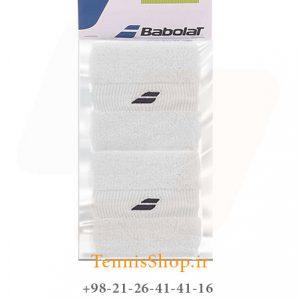 بند تنیس بابولات مدل 2 عددی رنگ سفید 1 300x300 - مچ بند تنیس بابولات سری Mini Comfort  مدل 2 عددی رنگ سفید