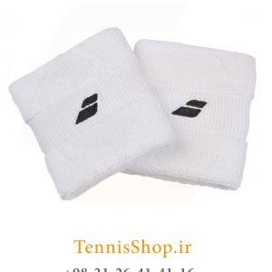 بند تنیس بابولات مدل 2 عددی رنگ سفید 2 300x300 - مچ بند تنیس بابولات سری Mini Comfort  مدل 2 عددی رنگ سفید