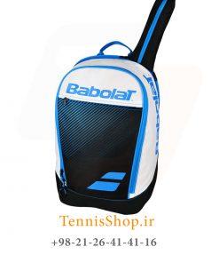 پشتی تنیس بابولات سری Club Classic رنگ سفید آبی 5 247x296 - کوله پشتی تنیس بابولات سری Club Classic رنگ سفید آبی