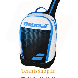 پشتی تنیس بابولات سری Club Classic رنگ سفید آبی 5 300x300 - کوله پشتی تنیس بابولات سری Club Classic رنگ سفید آبی