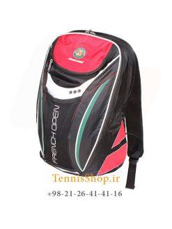کوله پشتی تنیس بابولات سری Club French Open رنگ مشکی قرمز