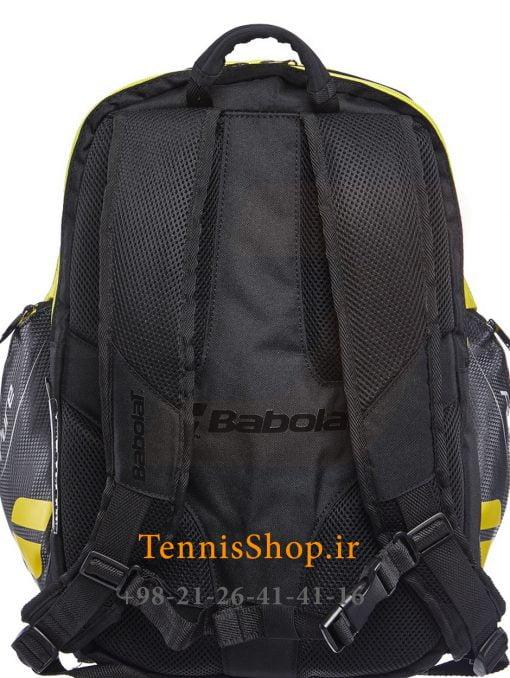 کوله پشتی تنیس بابولات سری Pure Aero رنگ مشکی زرد