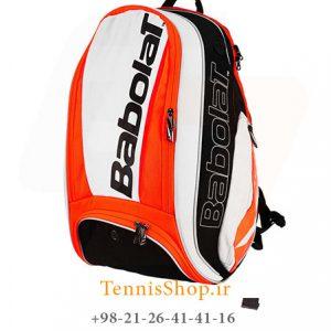 پشتی تنیس بابولات سری Pure Strike رنگ سفید نارنجی 1 300x300 - کوله پشتی تنیس بابولات سری Pure Strike رنگ سفید نارنجی