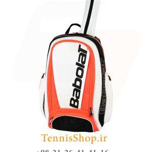 پشتی تنیس بابولات سری Pure Strike رنگ سفید نارنجی 3 300x300 - کوله پشتی تنیس بابولات سری Pure Strike رنگ سفید نارنجی
