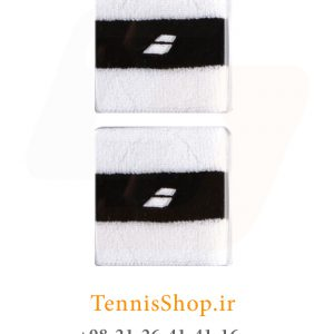 wt34fwef 300x300 - مچ بند تنیس بابولات سری Comfort مدل 2 عددی رنگ سفید مشکی
