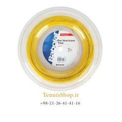 زه رول تنیس بابولات سری pro hurricane tour مدل 1.25 رنگ زرد