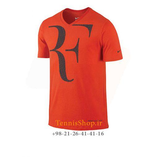 تیشرت تنیس نایک سری Premier RF رنگ نارنجی