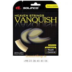 زه تک تنیس سولینکو سری Vanquish مدل 1.30 رنگ طلایی